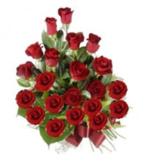 21 Red Roses Bunch