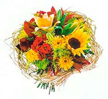 Bouquet round nest