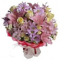 Bouquet lillà